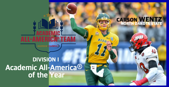 best website 1a1d9 0bbc2 North Dakota State QB Carson Wentz, Selected Second in the ...