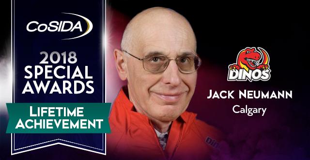Special Awards Salute: Jack Neumann (University of Calgary