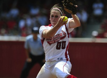 Ashley Brignac- 2012 CO AAA of the Year (DI Softball) action