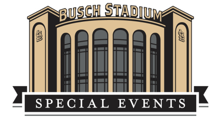 Busch Stadium special events logo
