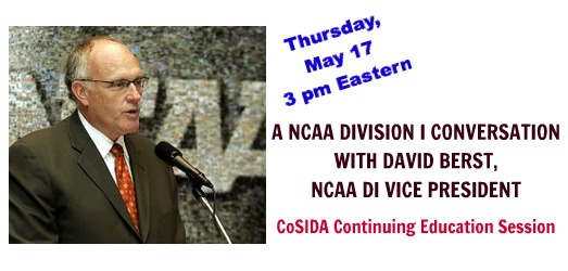 May 17 NCAA DI continuing ed session