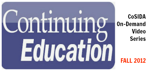 Fall 2012 continuing ed video banner