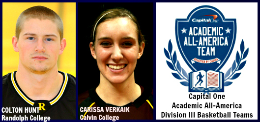Carissa Verkaik, Colton Hunt - CO AAA Basketball D3 AAAs of the Year