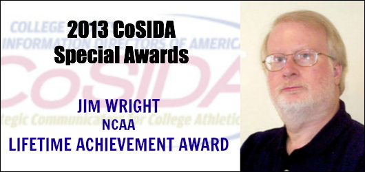 Jim Wright (NCAA)- Lifetime Achievement Award